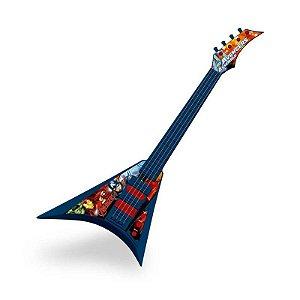 Guitarra Musical Infantil Vingadores