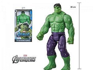 Boneco Hulk Marvel Vingadores Titan Hero Deluxe 30cm