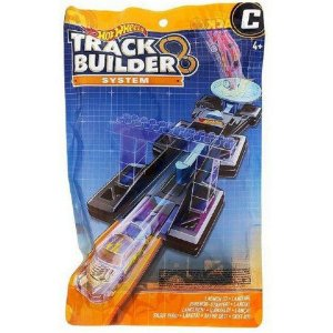 HOT WHEELS TRACK BUILDER SYSTEM PACK (C) LANÇADOR