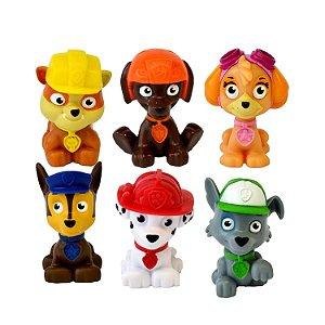 Patrulha Canina - Pack Com 6 Mini Figuras - GRÁTIS Jogo dos Quartetos