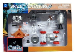 Kit Montar Space Station Lunar Rover