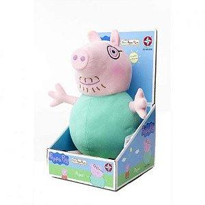 Pelúcia Pepa Pig - Mamãe - Estrela