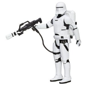 Boneco Star Wars 30cm - Flametrooper com Acessórios - Hasbro