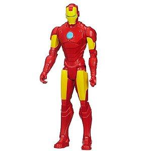 Boneco Avengers Iron Man Homen de Ferro Titan Hero 30 cm