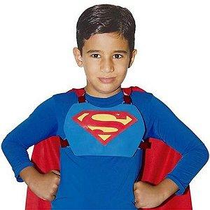 Kit Superman Liga Da Justiça (Capa + Peitoral)