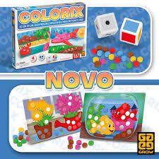 Jogo de Tabuleiro Educativo Colorix