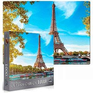 Quebra-Cabeça 1000 Peças Paris - Torre Eiffel