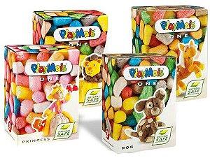 KIT PlayMais One - 4 Caixas (Princess, Dog, Lion e Horse)