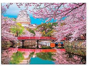 Quebra-Cabeça - Cores da Ásia - JAPÃO - 1.000 Peças