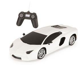 Carrinho de Controle Remoto Luxury Sports Car Branco