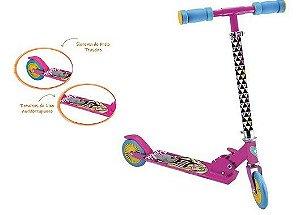 Patinete Fabuloso Barbie - 2 rodas