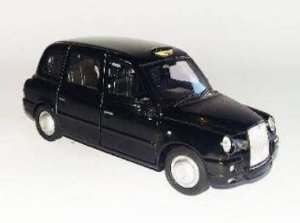 Fantástica Miniatura Austin TX4 Taxi London - 1:38 - Welly