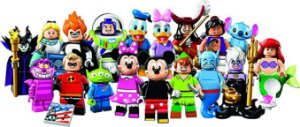 Lego Minifiguras Personagens Disney Sortidos