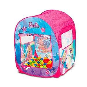 Barraca Barbie Mundo dos Sonhos com 50 Bolinhas - Fun