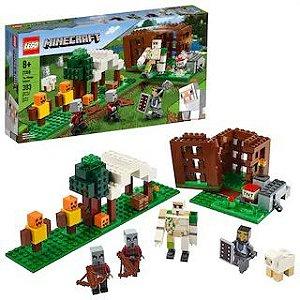 LANÇAMENTO!!! LEGO Minecraft - O Ataque de Illager - 21160
