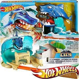 Hot Wheels - Ataque do Tubarão na Praia