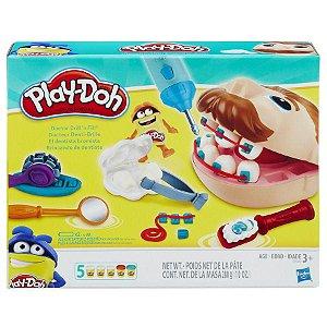 Massinha Play Doh Playset Dentista