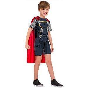 Fantasia Thor Infantil Curta Os Vingadores (M) - Original - Rubies