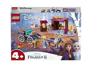 LEGO 41166 - A Aventura em Caravana da Elsa - 116 pçs