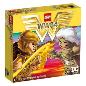 Lego 76157 - Mulher Maravilha Vs Cheetah - 371 Peças
