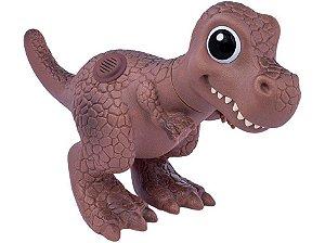 Dinossauro World Baby T Rex Dinossaurinhos com Miniaturas