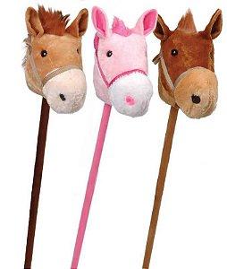 Pelucia Cavalo Pocoto Com Rodinha e Som Lovely Toys