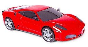Carrinho Roda Livre Sportcar 23cm Vermelho Ferrari
