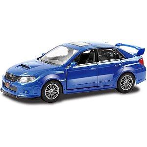 Miniatura em Metal Veículo Subaru WRX STI Super Marcas DTC
