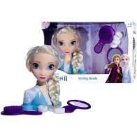Busto de Boneca Elsa Frozen II Styling Head