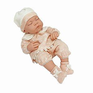 Boneca Bebê Reborn Menina Olhos Fechados