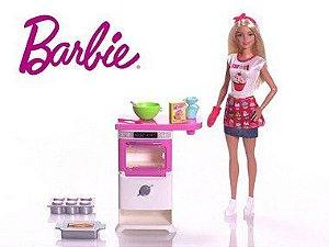 Boneca Barbie Cozinhando e Criando - Super Promoção!!!