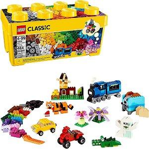 Lego 10696 Classic Caixa Média De Peças Criativas 484 Peças