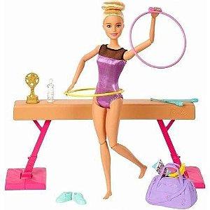 Barbie I Can Be Playset Ginasta com Acessórios