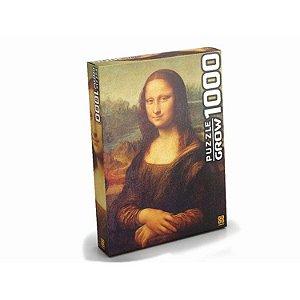 Quebra Cabeça Monalisa 1.000 peças