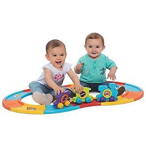 Babytrain Express Didático 12 Trilhos