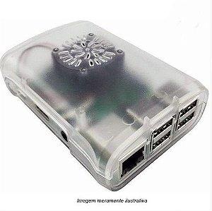 Case Raspberry Pi 3 em ABS Incolor