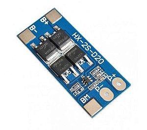 Módulo de Proteção para baterias de Li-Ion 2S 13A