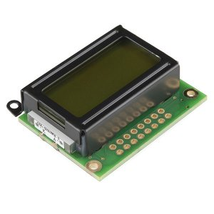 Display LCD 8x2 - Fundo Verde