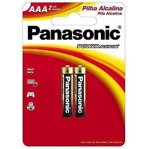 2 Pilhas AAA Panasonic Power Alkaline