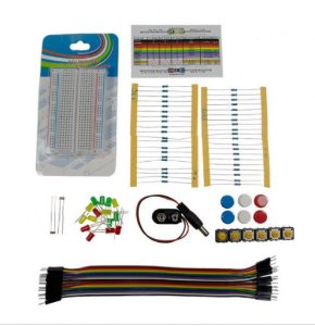 Kit componentes para Arduino e Raspberry Pi - Kit FK1