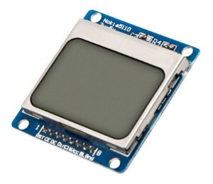 Display LCD Nokia 5110 para Arduino - 84x48 pixels