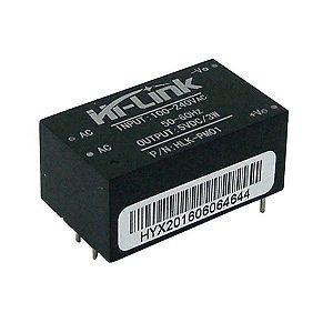 Fonte HLK-PM01 100-240VAC para 5VDC 3W