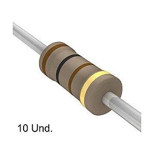 Resistor 1/4W 100R Ohms X 10 Unidades