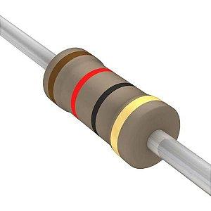 Resistor 1/4W 12R Ohms X 10 Unidades