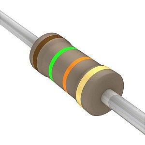 Resistor 1/4W 15K Ohms x 10 Unidades