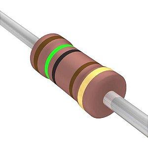 Resistor 1/4W 18R Ohms X 10 Unidades