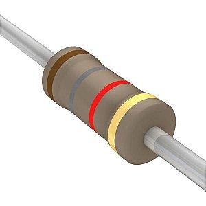 Resistor 1/4W 1K8 Ohms x 10 Unidades