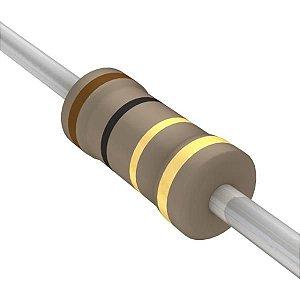 Resistor 1/4W 1R0 Ohms X 10 Unidades