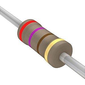 Resistor 1/4W 270R Ohms X 10 Unidades