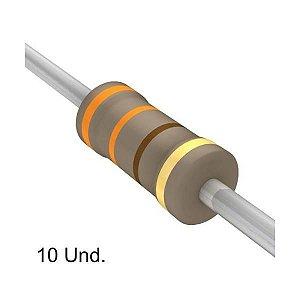 Resistor 1/4W 330R Ohms X 10 Unidades